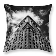 Consolidated Edison Building Throw Pillow