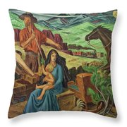 Consolidation Of The West Throw Pillow