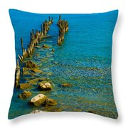 Constance Lake Landscape Throw Pillow