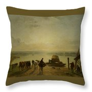 Constant Troyon Throw Pillow