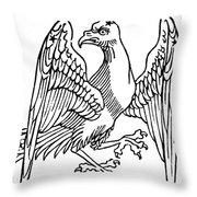 Constellation: Aquila Throw Pillow