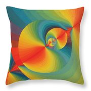 Constellation Of Planets Throw Pillow