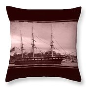 Constellation Returns - Old Photo Look Throw Pillow