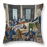 Constitutional Convention Throw Pillow