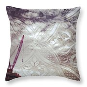 Constructed Filigree Throw Pillow