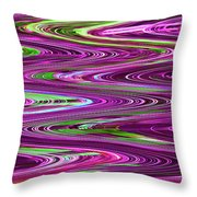 Construction Color Abstract P Throw Pillow