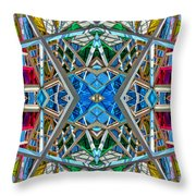Constructurropolis Throw Pillow