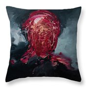 Consumption Series, I Throw Pillow by Daniel Hannih
