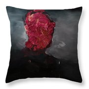 Consumption Series, II Throw Pillow by Daniel Hannih