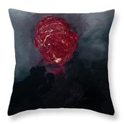 Consumption Series, IIi Throw Pillow by Daniel Hannih