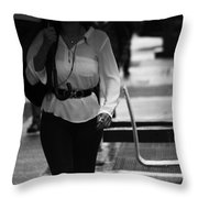 Contain My Whistles  Throw Pillow