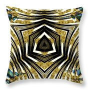 Contained Herein Throw Pillow