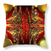Containment Field-excaliber Throw Pillow