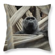 Contemplate Throw Pillow
