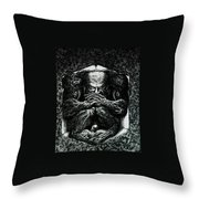 Contemplation Throw Pillow by Tobey Anderson