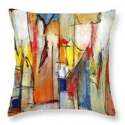 Contemporary Art Eight Throw Pillow