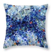 Contemporary Art Forty-nine Throw Pillow