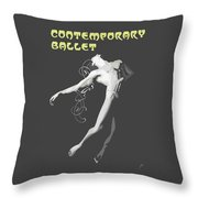 Contemporary Ballet  Throw Pillow
