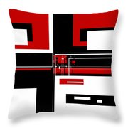Contemporary Design IIi Throw Pillow