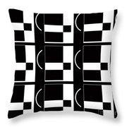 Contemporary Design Vii Throw Pillow