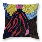 Contemporary Look Throw Pillow