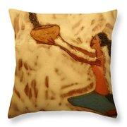 Contentment - Tile Throw Pillow