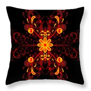 Continental Abstract Throw Pillow