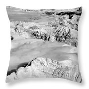 Continental Divide Clouds Rocky Mountains Throw Pillow