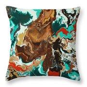 Continental Fusion Throw Pillow