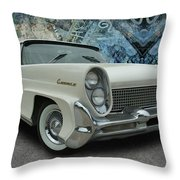 Continental Side View Throw Pillow