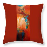 Continuity2 Throw Pillow