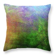 Continuum Throw Pillow