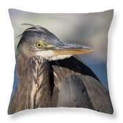 Contortionist Throw Pillow