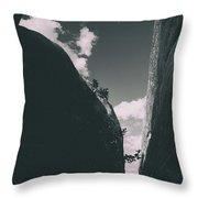 Contours Of Canyons Throw Pillow