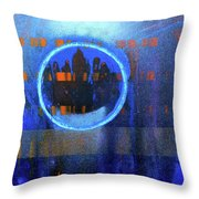 Contrast Ring 2 Throw Pillow