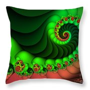 Contrasted Harmony Throw Pillow