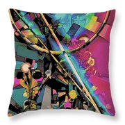 Contrive Throw Pillow