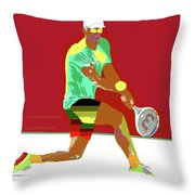 Control The Baseline 1 Throw Pillow