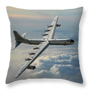 Convair Rb-36f Peacemaker Throw Pillow