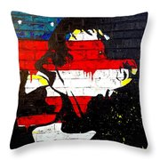 Convenience States Throw Pillow