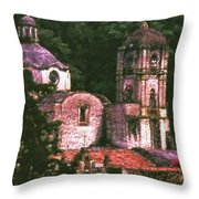 Convent Cezzanne Style Throw Pillow