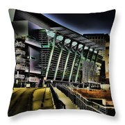 Convention Center Station Throw Pillow