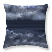 Convergence Zone Throw Pillow