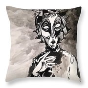Conversation Among The Ruins Throw Pillow