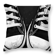 Converse 1 Throw Pillow