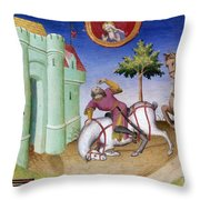 Conversion Of Saint Paul Throw Pillow