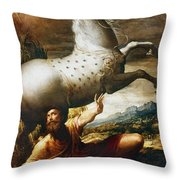 Conversion Of St. Paul Throw Pillow