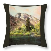 Convict Lake In May Throw Pillow