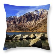 Convict Lake Throw Pillow