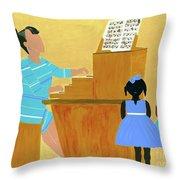 Convocation Throw Pillow